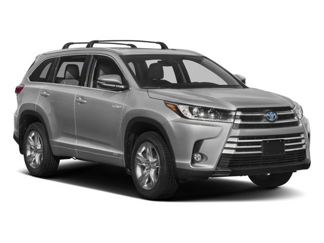 2018 Toyota Highlander Hybrid Limited V6 Awd Toyota Dealer Serving